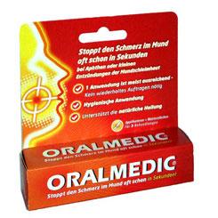 Aphten Medikament Oralmedic Applikatoren